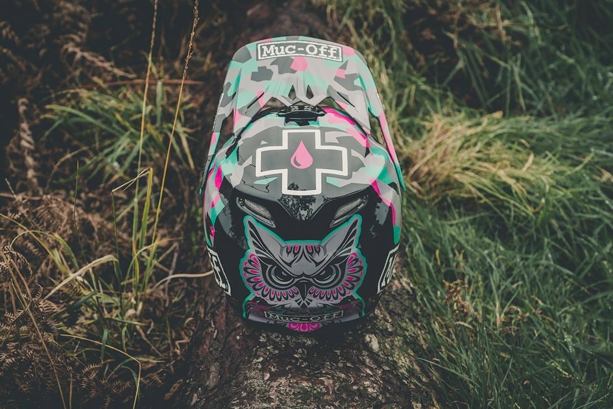 Steffi Marth - Custom Helmet Image 1