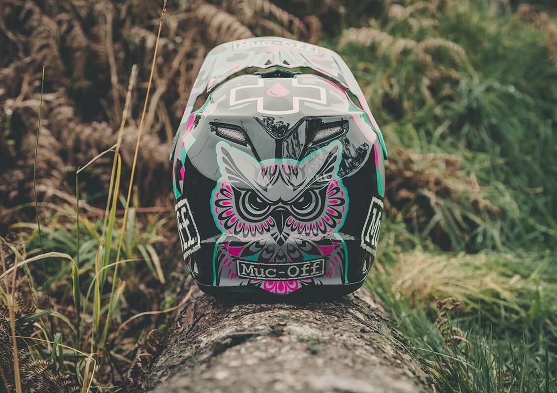 Steffi Marth - Custom Helmet Image 2