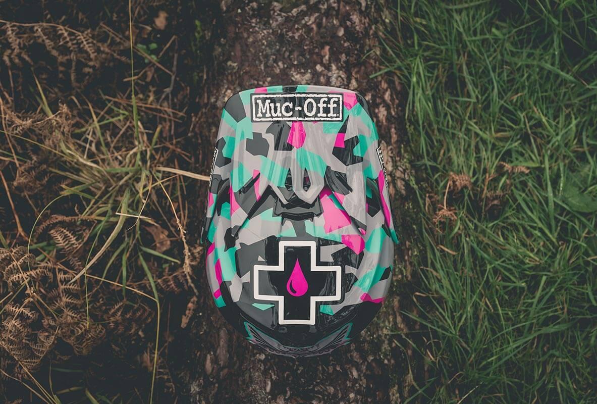 Steffi Marth - Custom Helmet Image 4