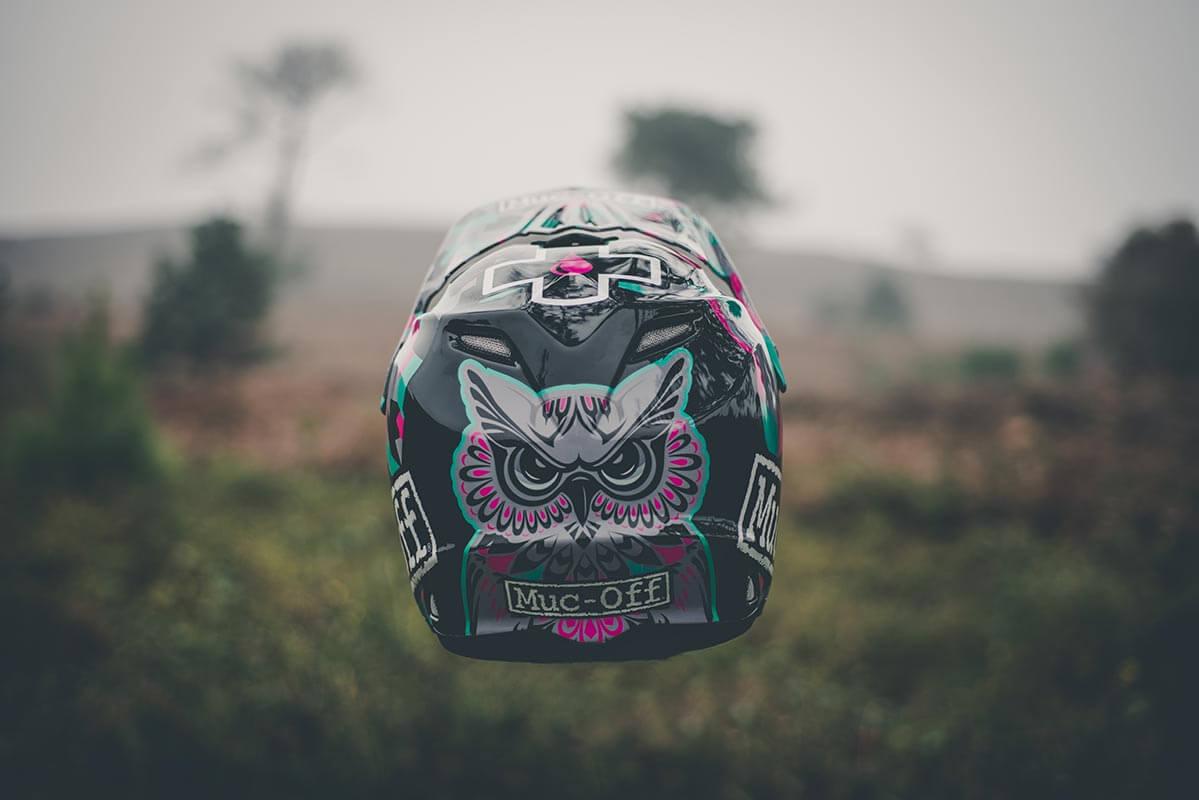 Steffi Marth - Custom Helmet Image 5