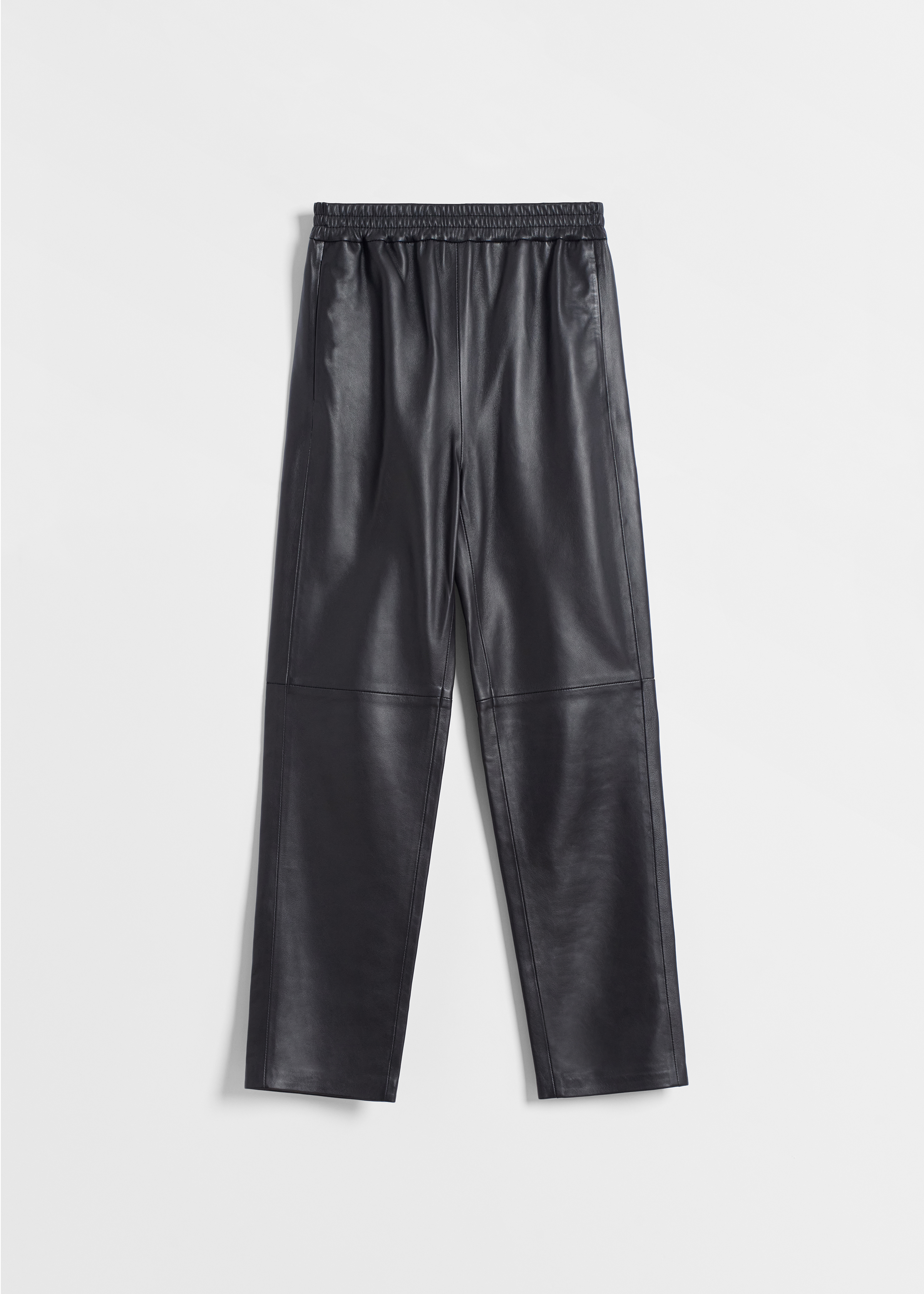 CO - Jogger Pant in Leather - Black