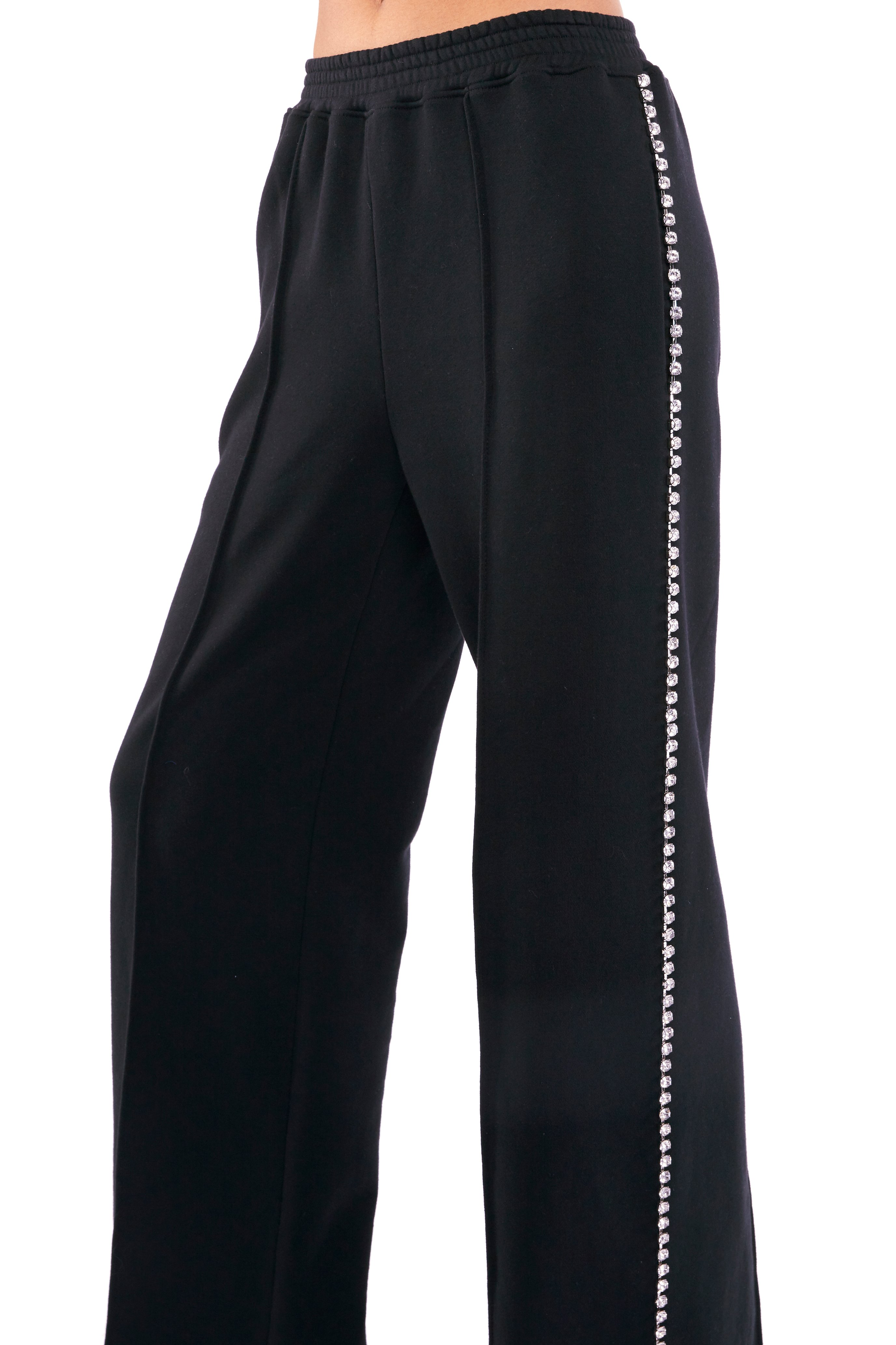 Crystal Stitched Track Pant