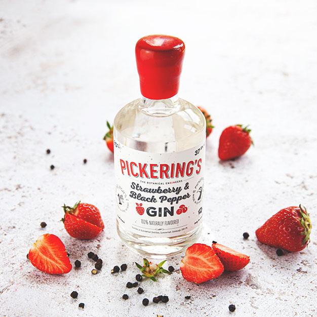 Strawberry & Black Pepper Gin
