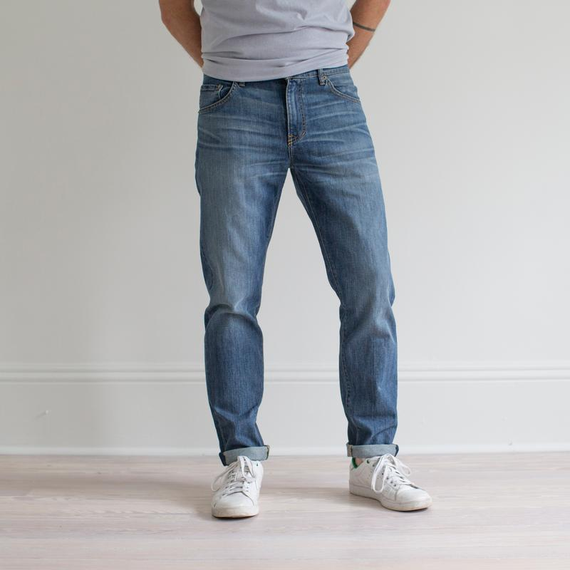 Graham Work Taper Fit Denim Fit Image