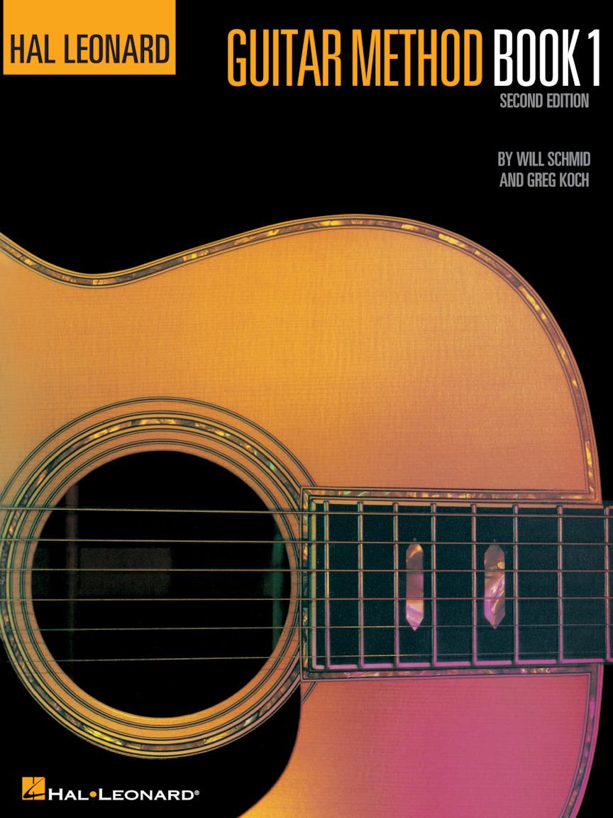 Hal Leonard Guitar Method Book 1 in action
