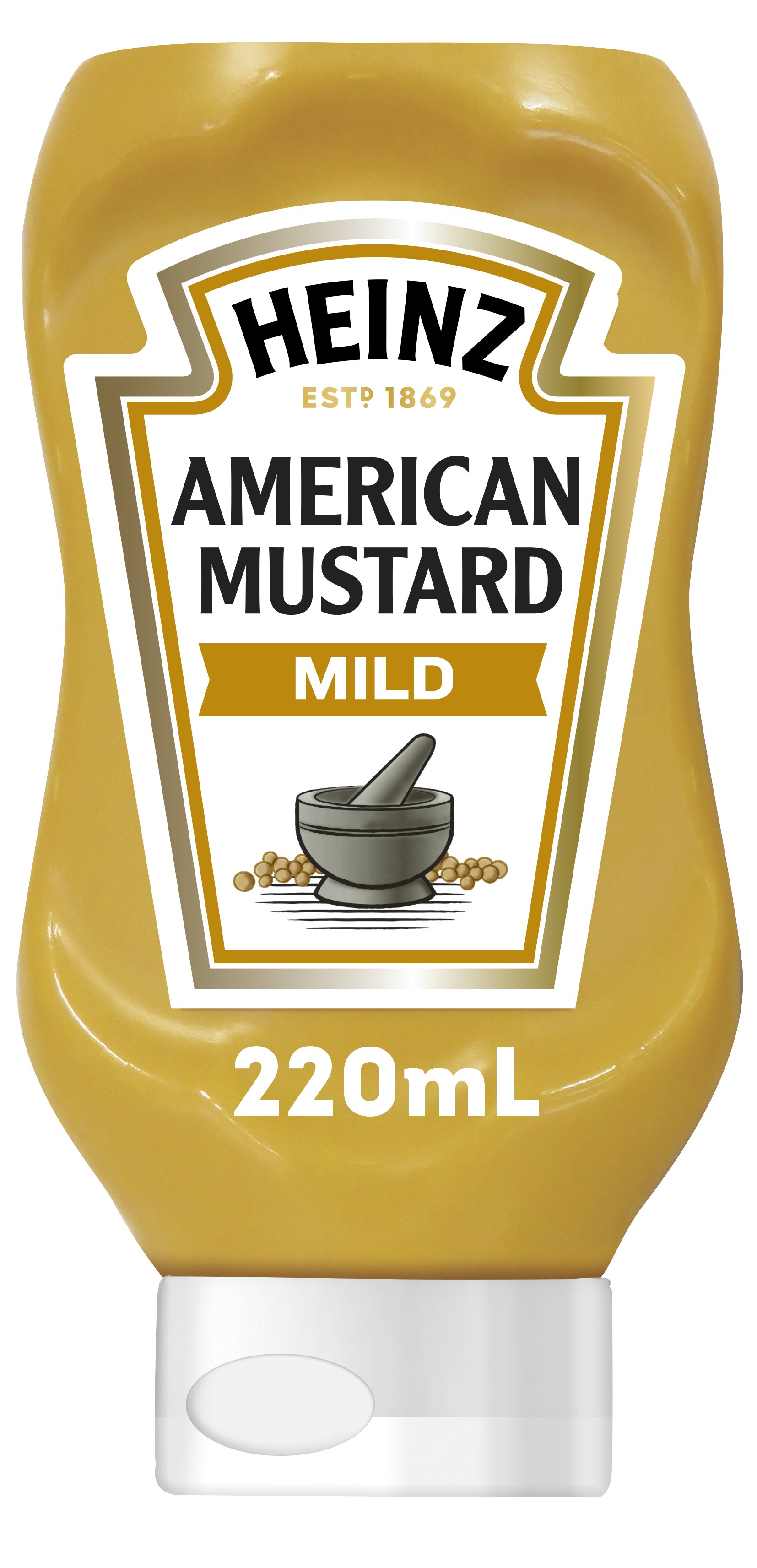 Photograph of Heinz® American Mustard 200mL product