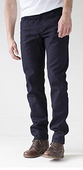 Graham Work Taper Fit Pants Fit Image