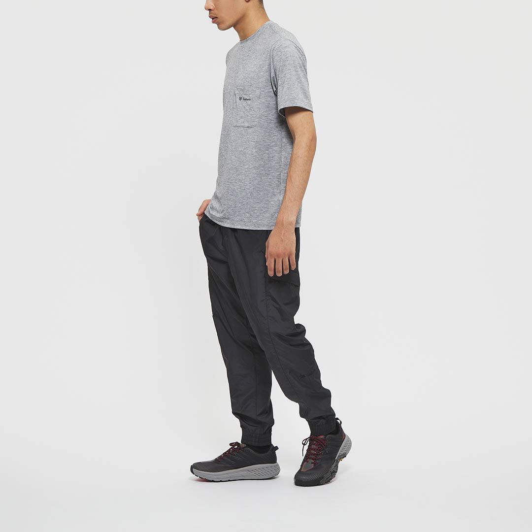 "Model: Height 5'8"" | Wearing: BLACK / M"