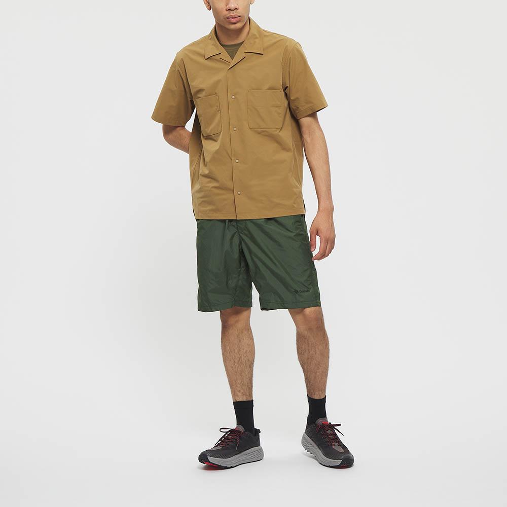 "Model: Height 5'8"" | Wearing: KHAKI GREEN / M"
