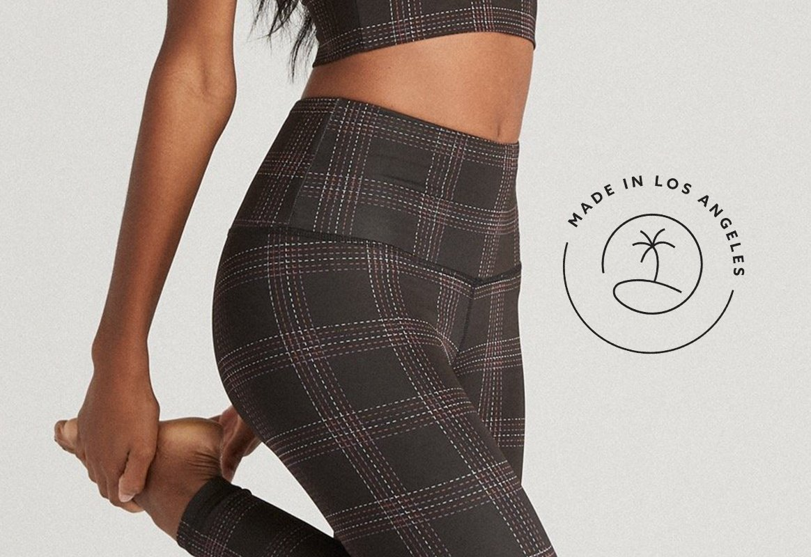 Strut This Strut Double Faced Fabric — Made in Los Angeles, California Activewear & Athleisurewear