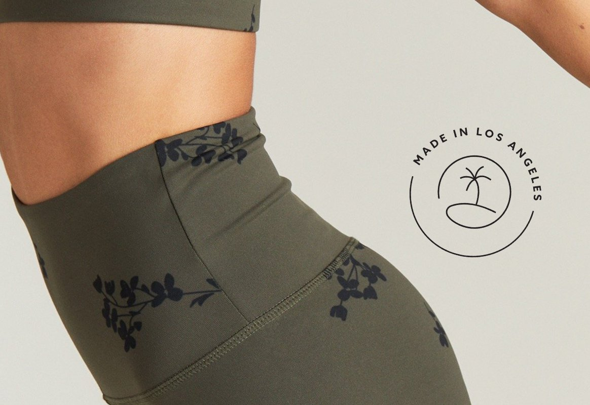 Strut This Strut Lush Fabric — Made in Los Angeles, California Activewear & Athleisurewear