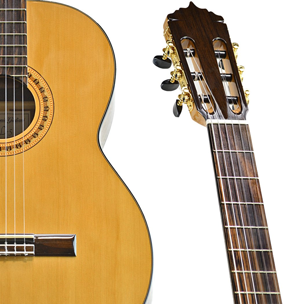 Antonio Giuliani CL-5 Mahogany Classical Guitar Outfit in action