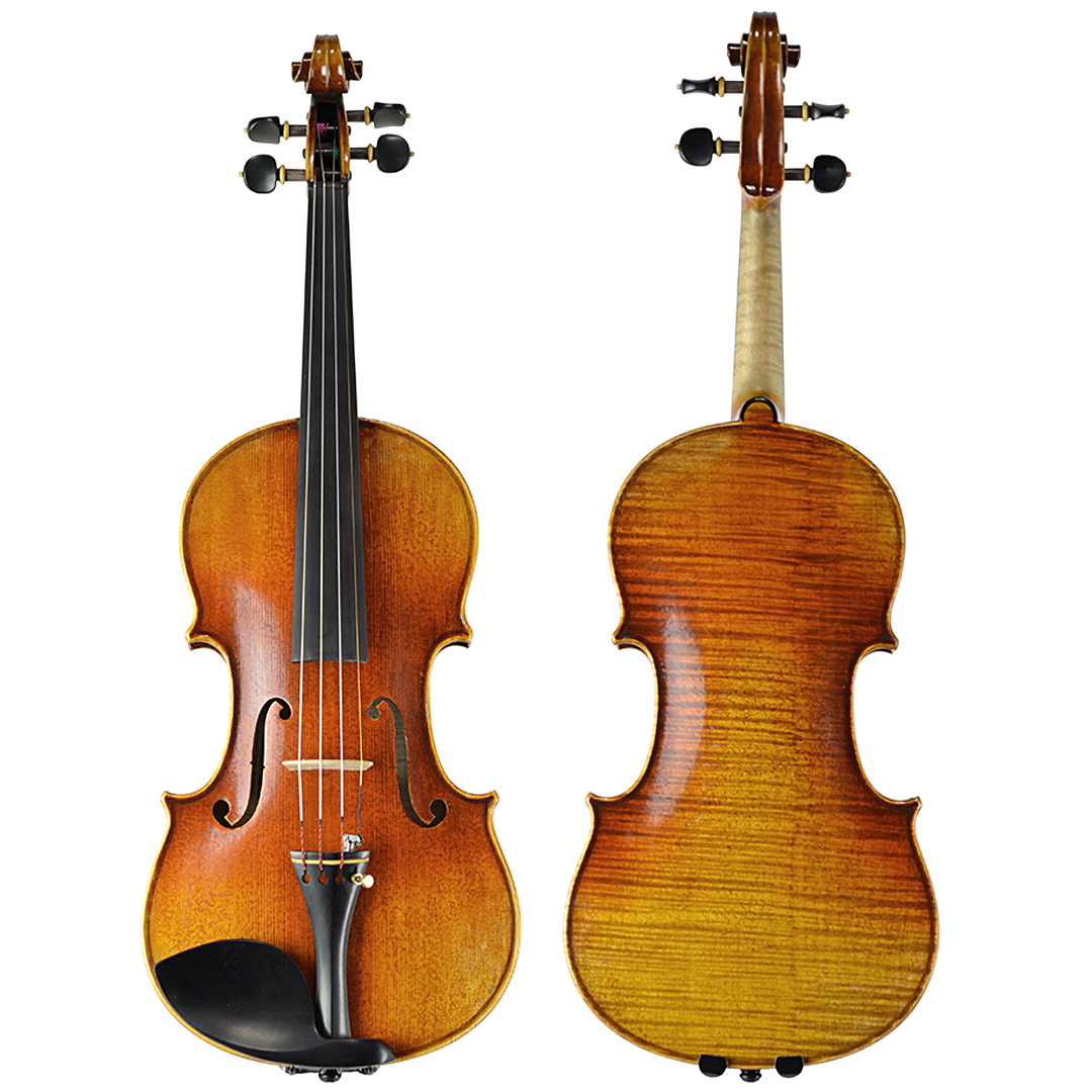 Vitacek Master Series Violin Outfit in action