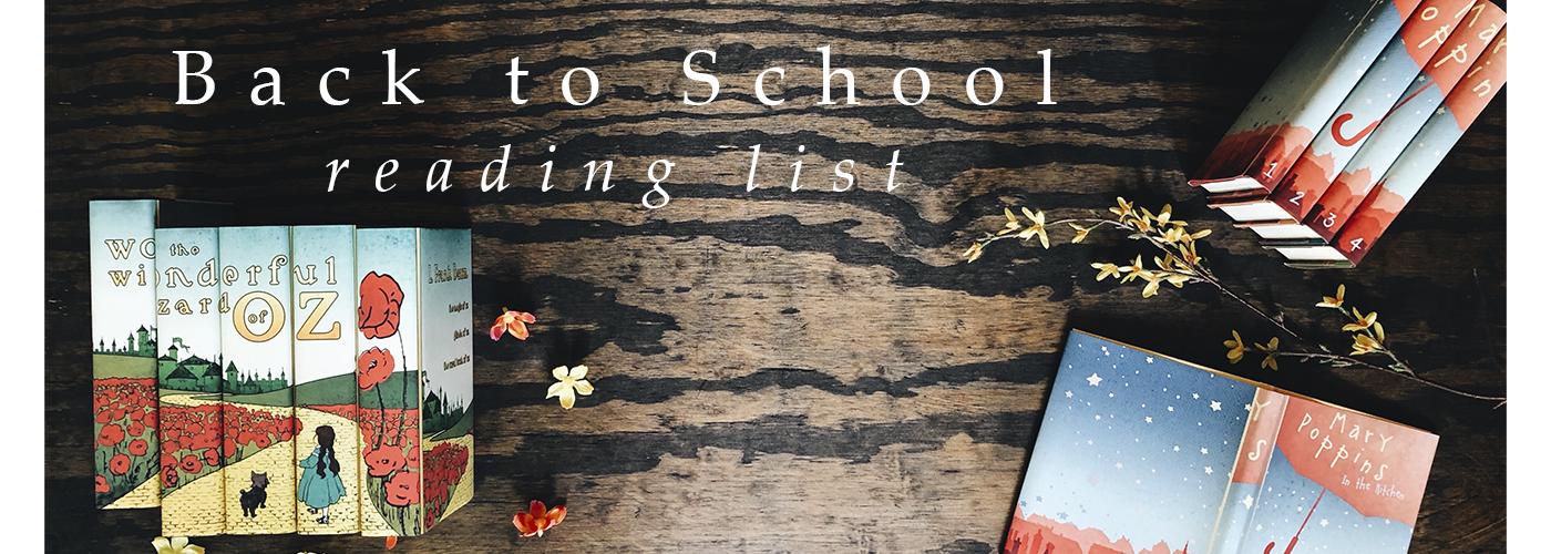 Banner image for Back-to-School Reading List
