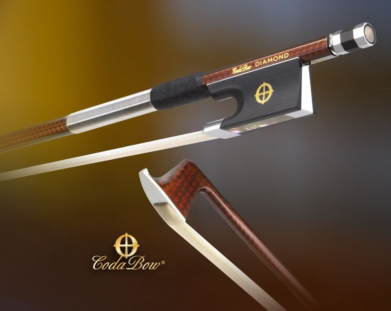 CodaBow Diamond GX (Gold Level) Violin Bow in action