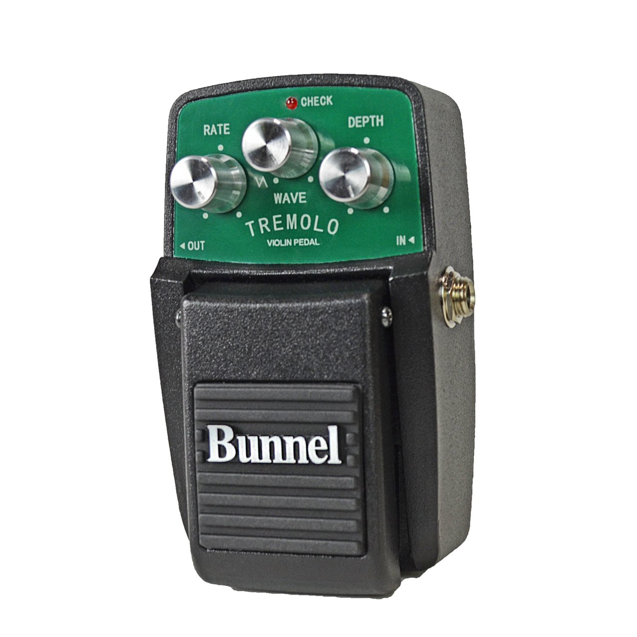 Bunnel Tremolo Effects Pedal in action