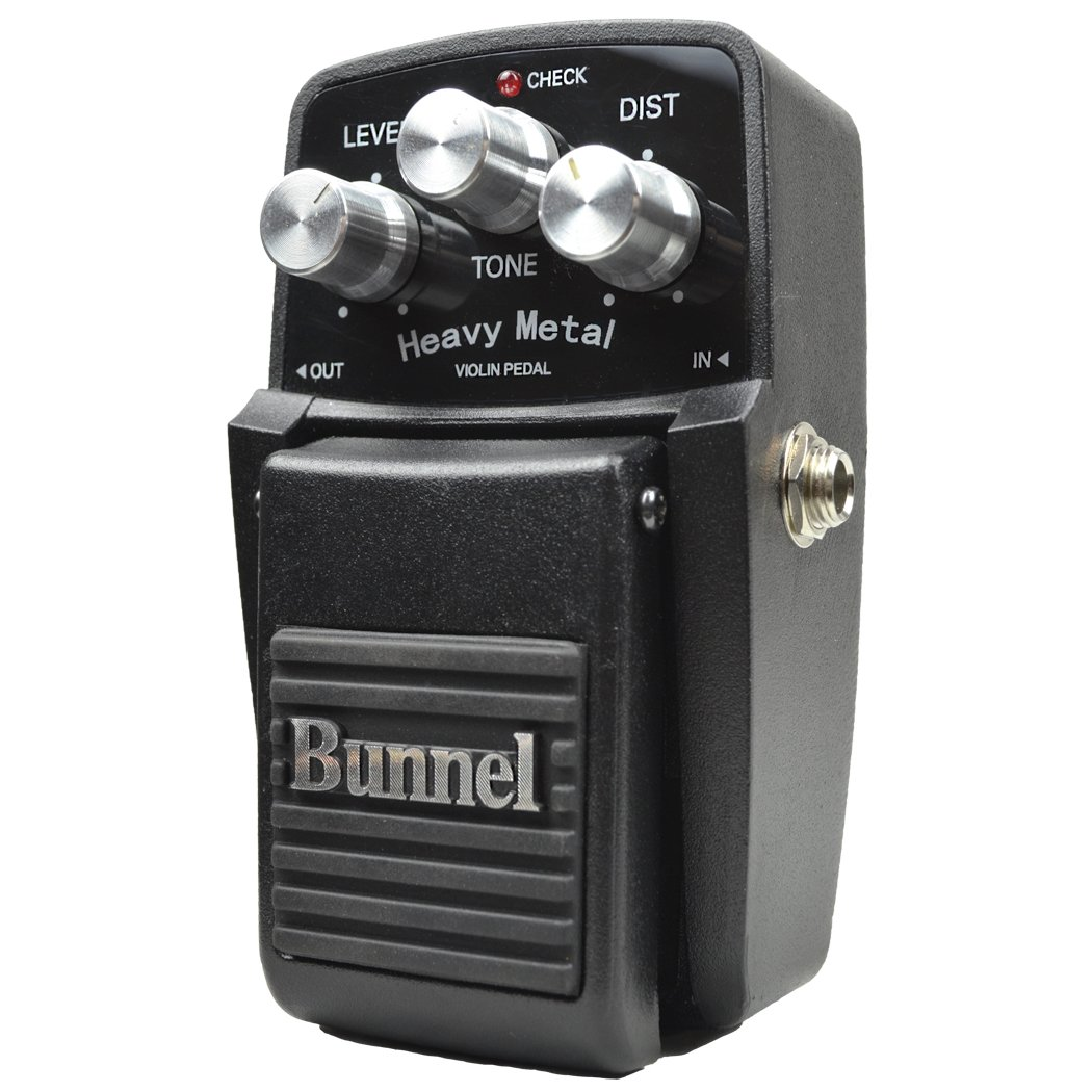 Bunnel Heavy Metal Effects Pedal in action