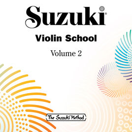 Suzuki Violin School: Violin Part, Volume 2 Book & CD in action