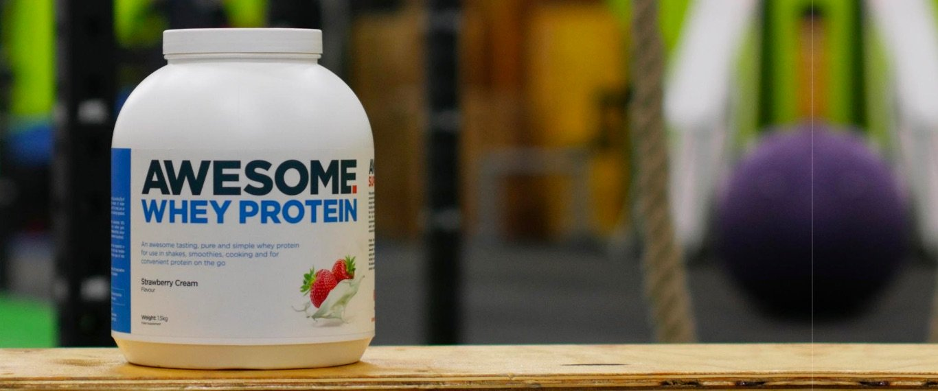 Awesome Whey Protein - Sample Chocolate **OLD VERSION** hero banner