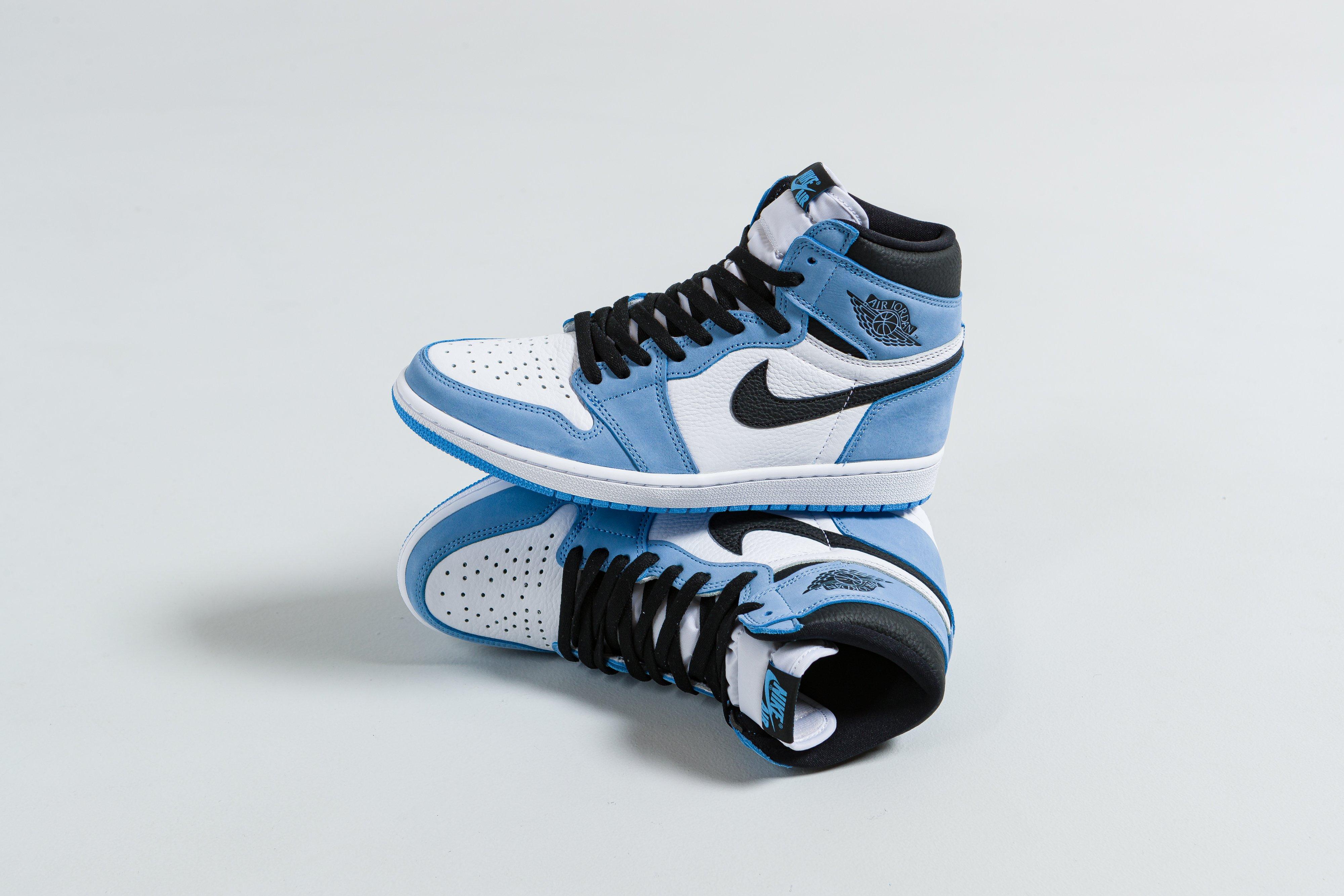Jordan - Air Jordan 1 Retro High OG - White/Black-University Blue - Up There