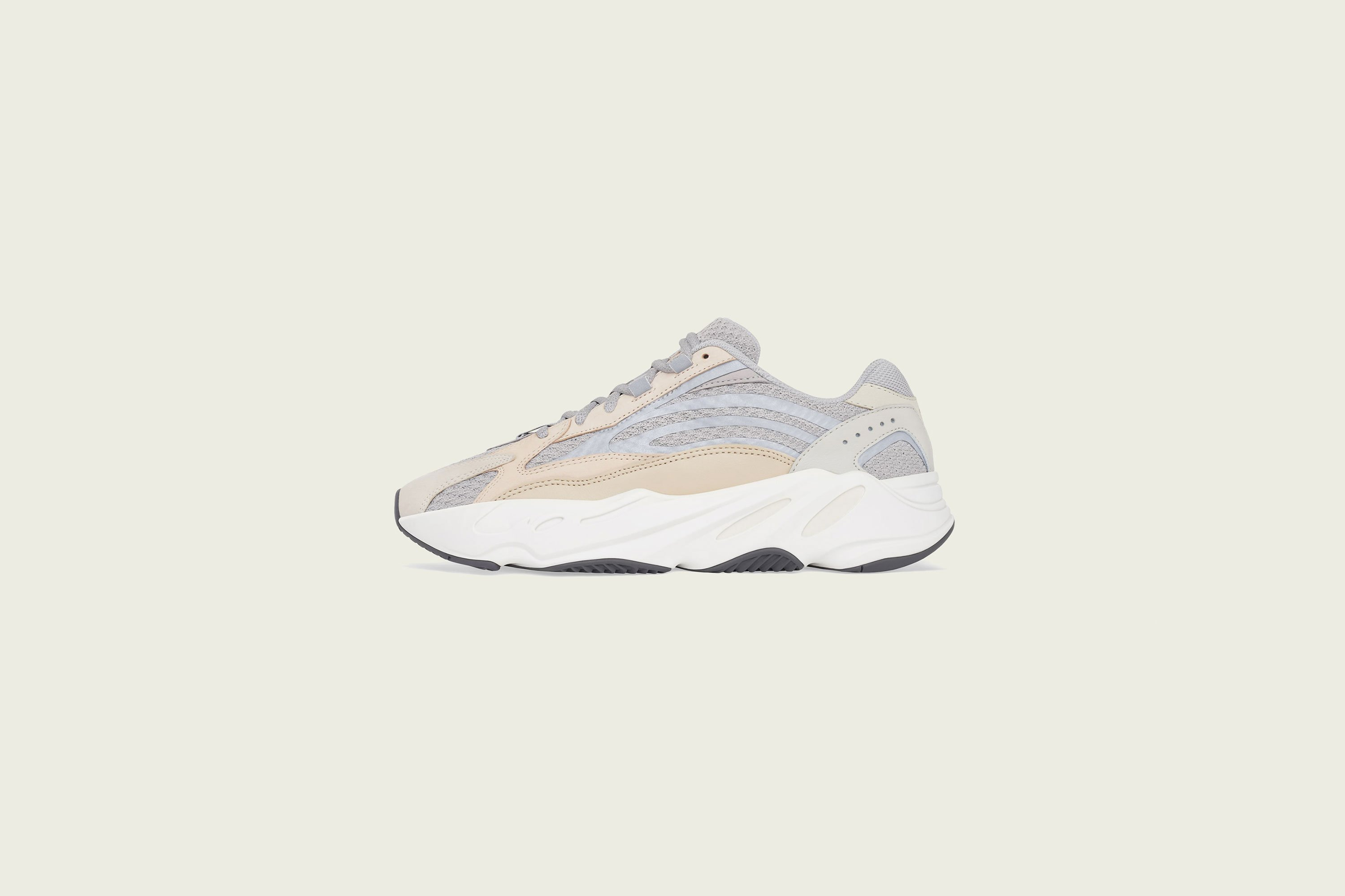 adidas - Yeezy Boost 700v2 - Cream - Up There