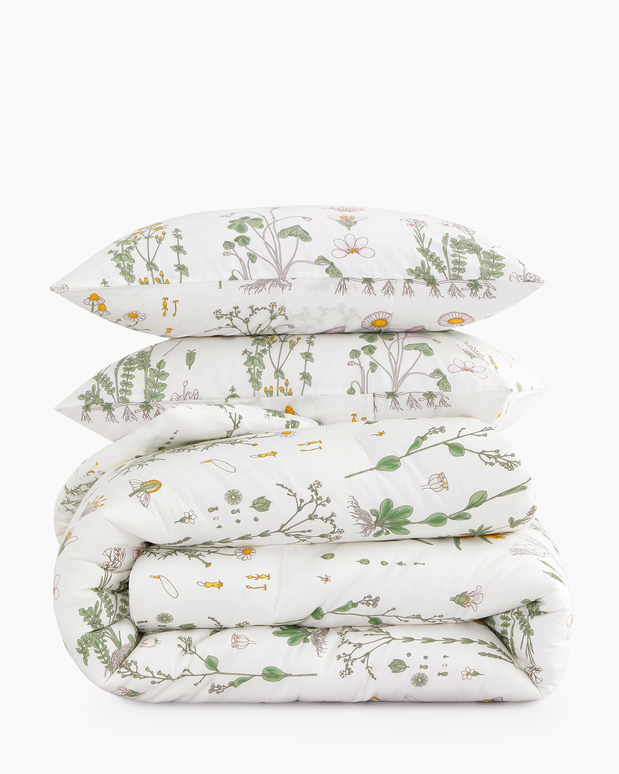 Botanical Cotton Comforter Set
