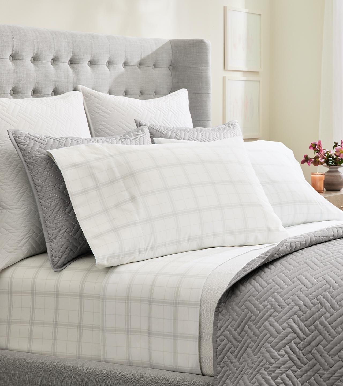 Percale Classic Plaid Pillowcase Set | Boll & Branch®