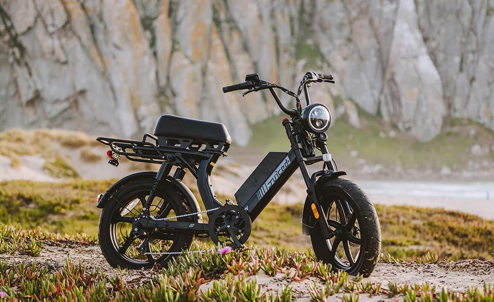 Juiced electric bike Scorpion X in nature