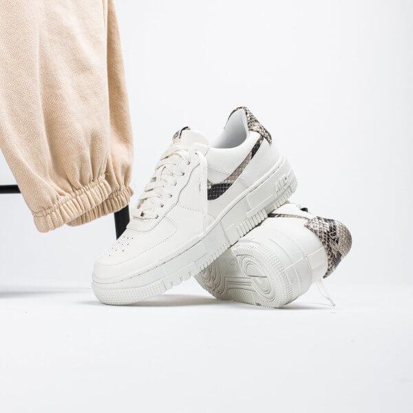 Nike Air Force 1 Low Pixel Snakeskin - CV8481-101