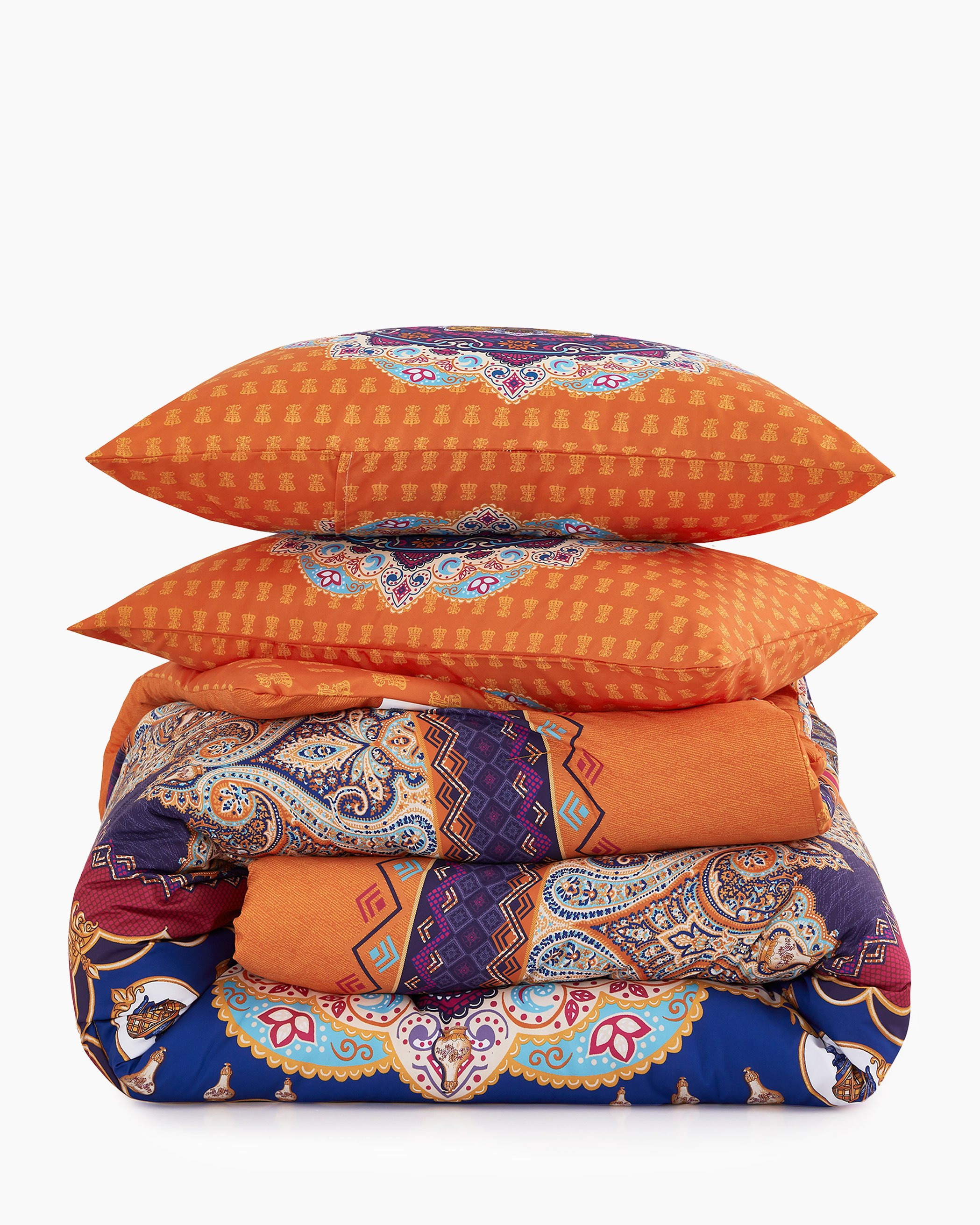 Mandala Bohemian Microfiber Comforter Set
