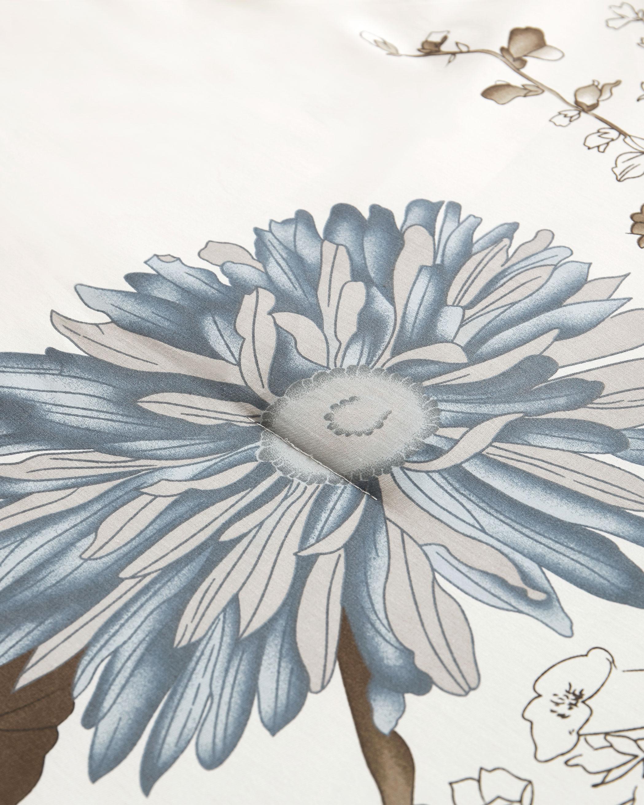 Floral Cotton Comforter Set