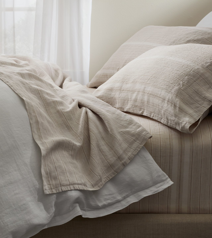 Linen Stripe Pillowcase Set | Boll & Branch®