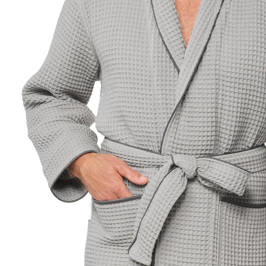 Men's Waffle Robe
