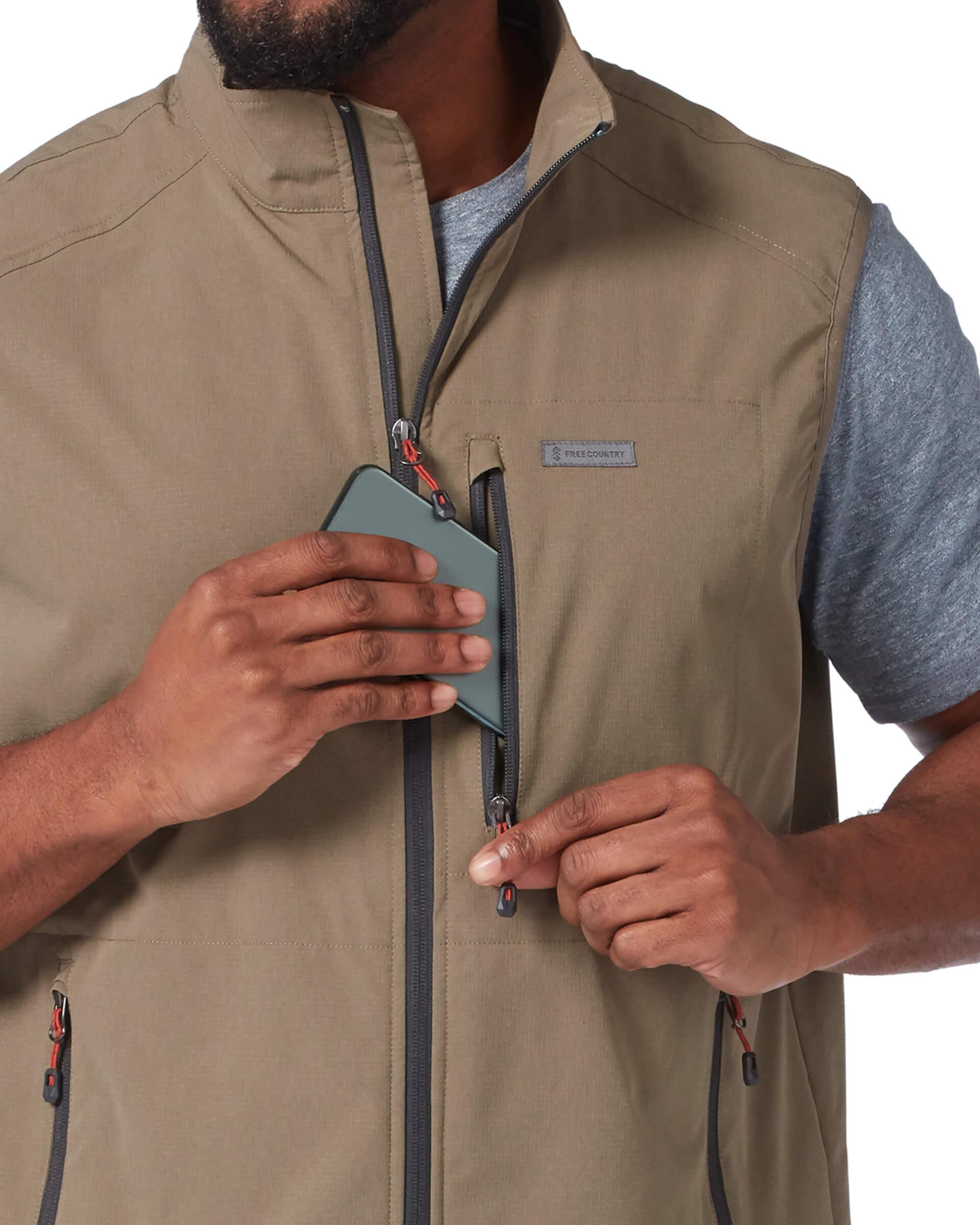 Men's Stretch Rip Stop Adventure Vest