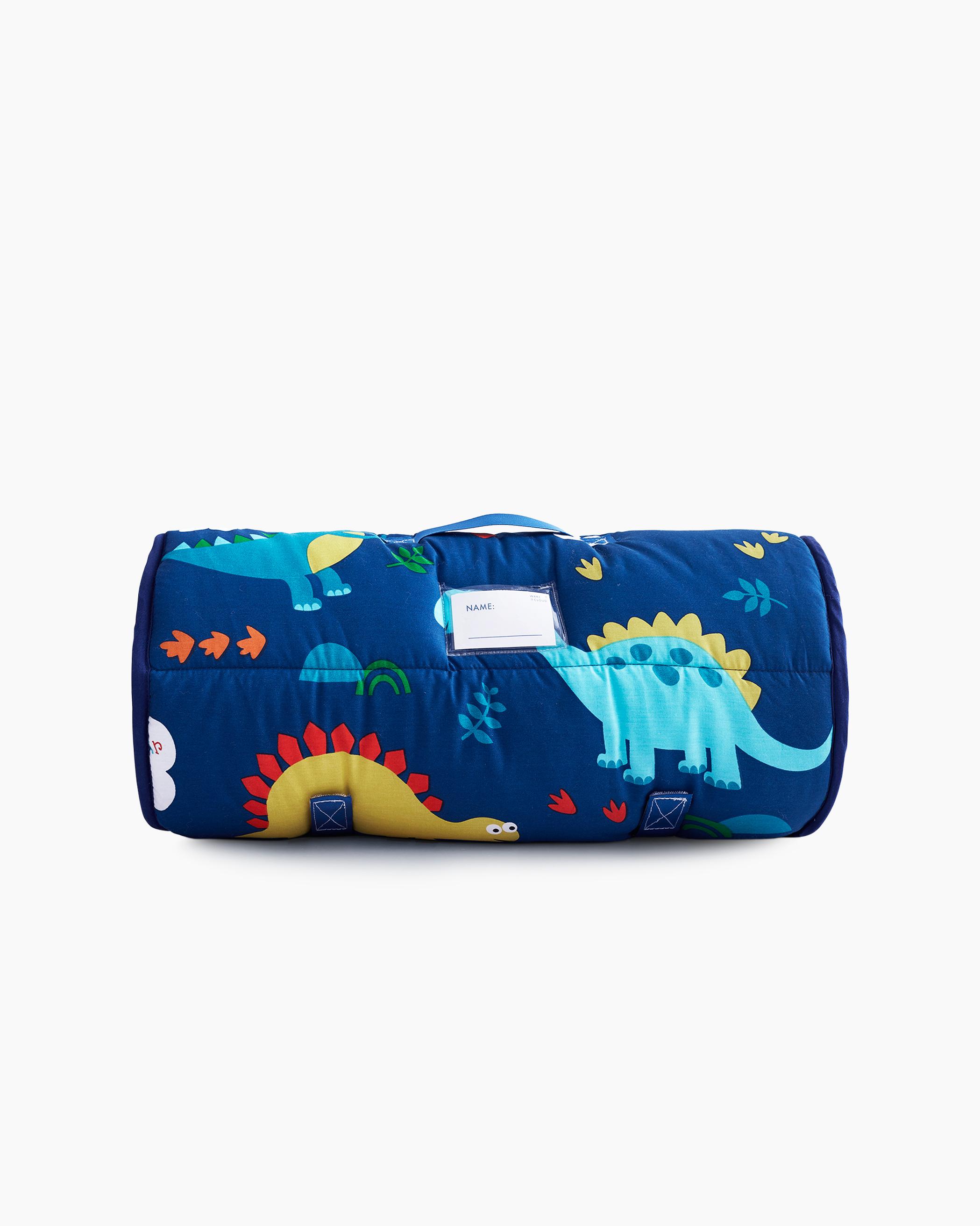 Blue Dinosaurs Cotton Kids Nap Mat