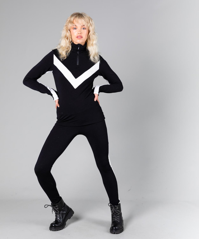 Womens Voss Colour Block Zip Up