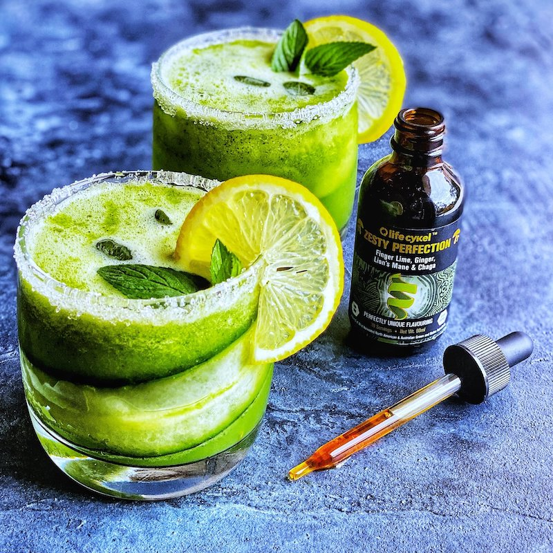 Zesty Cucumber & Mint Mocktail