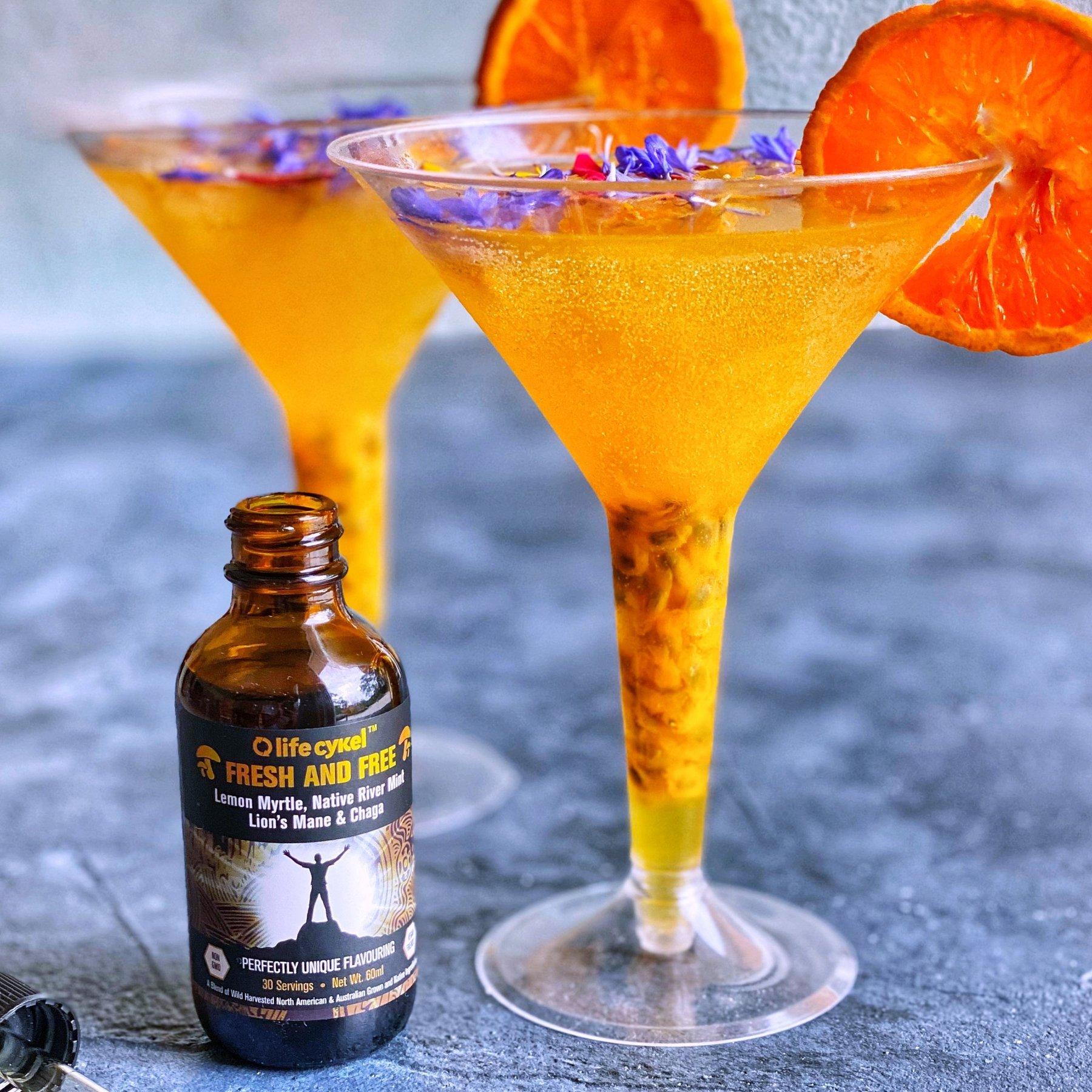 Fresh & Free Mandarin Mocktail