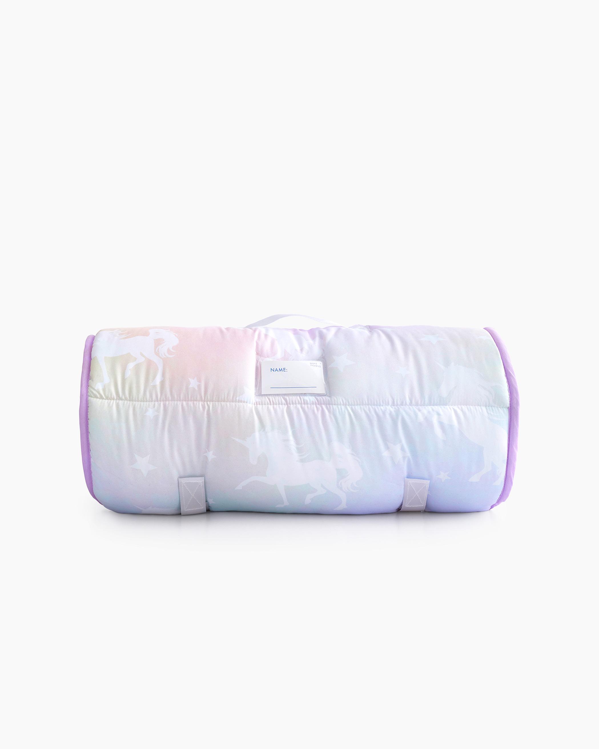Purple Galaxy Unicorn Microfiber Kids Nap Mat