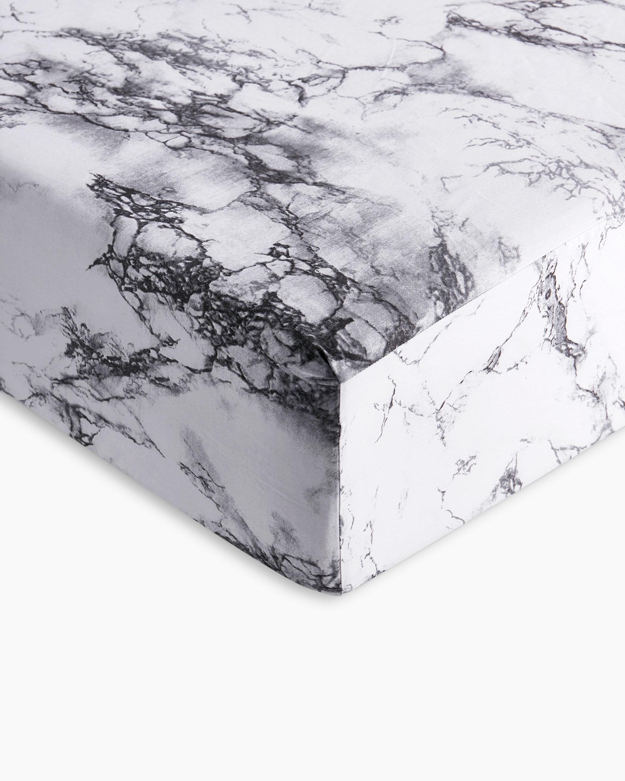 Marble Microfiber Sheet Set