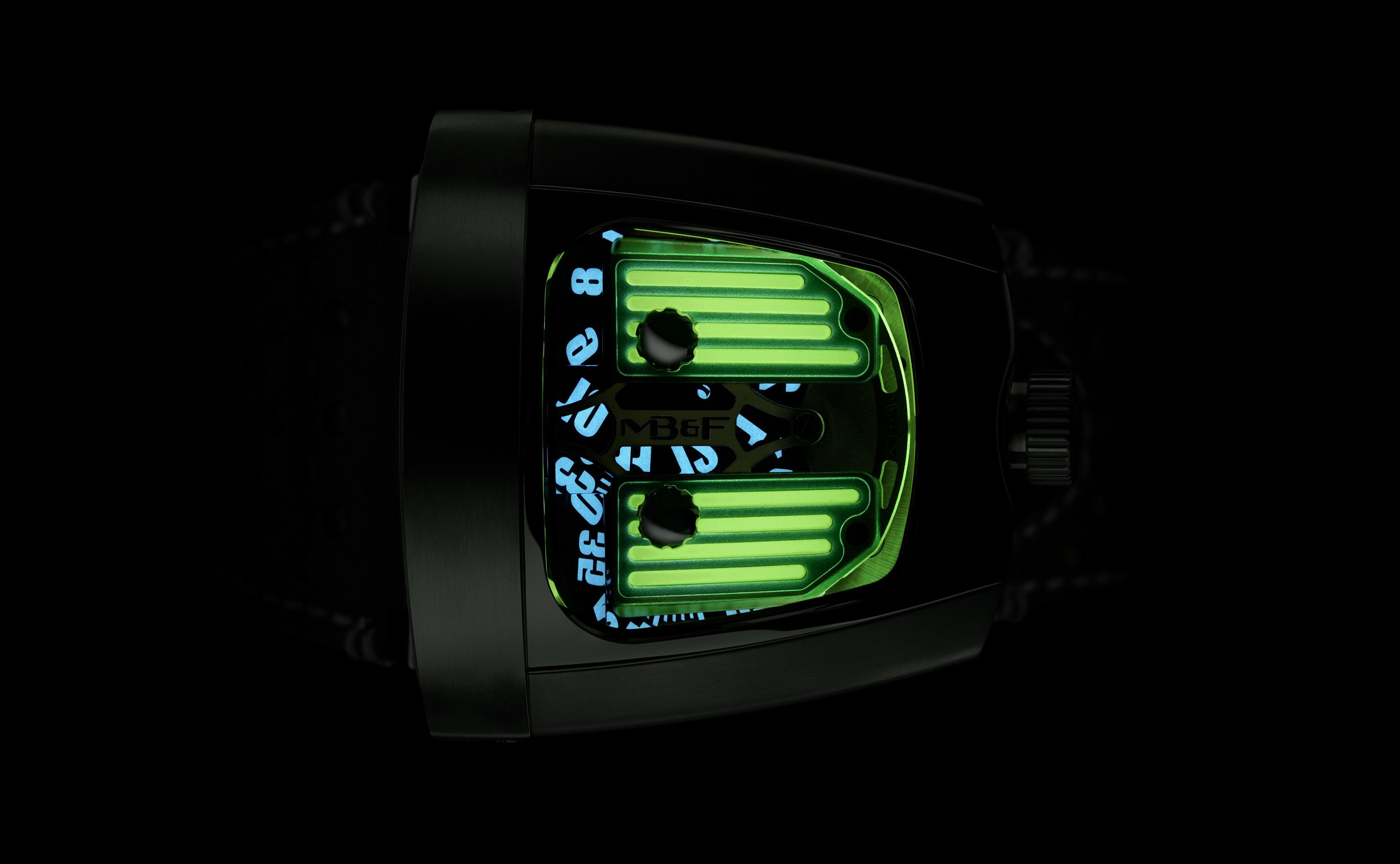 HMX BLACK BADGER GREEN