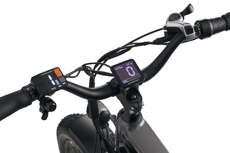 rad rover 6 bike cocpit