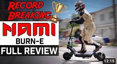 Nami Burn-e review by ESG