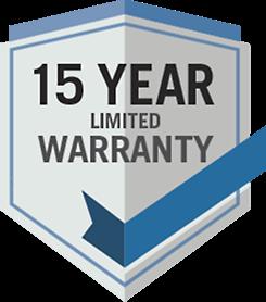 Napoleon 15 Year Limited Warranty