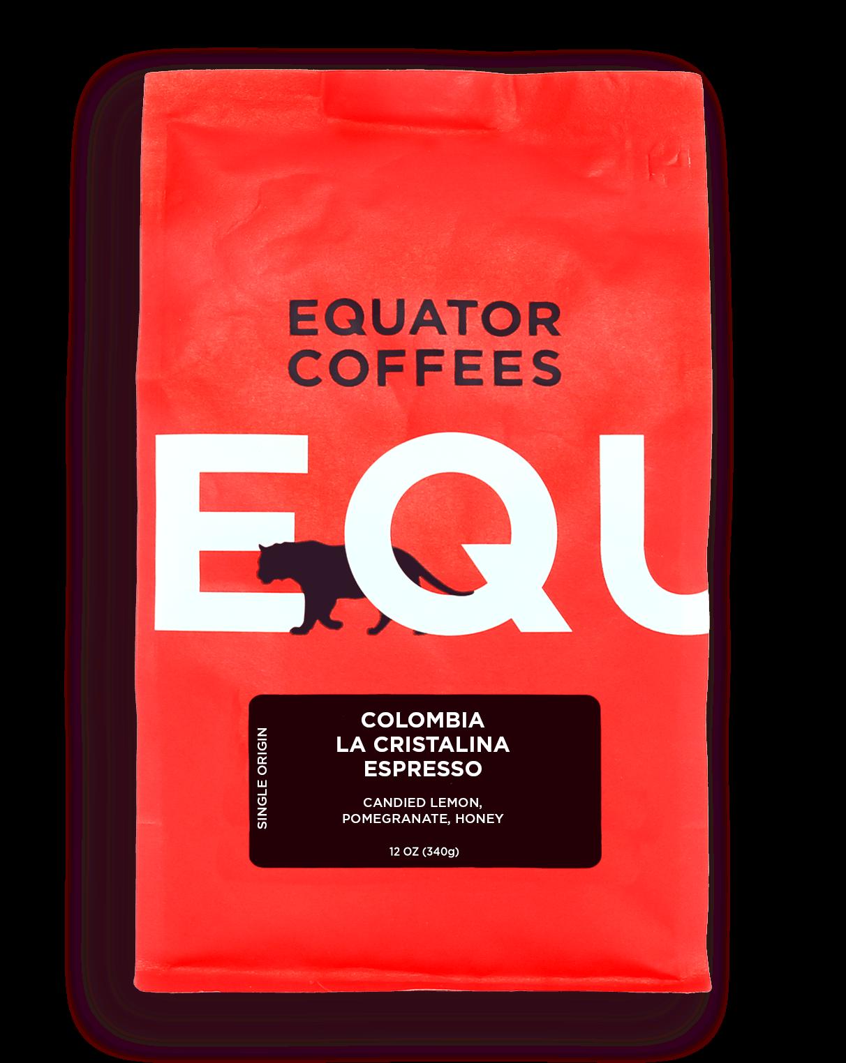 Colombia La Cristalina Single Origin Espresso