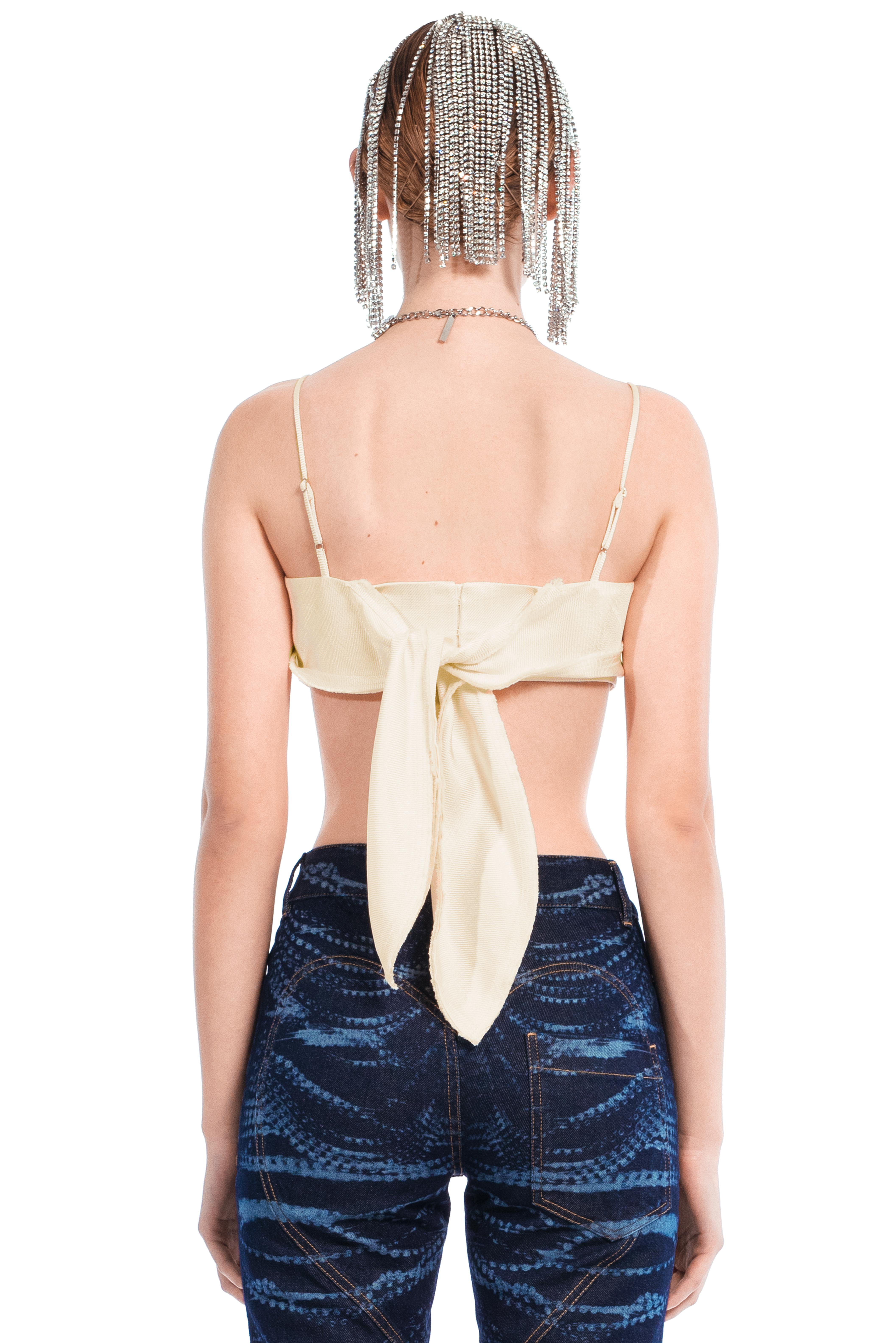 Handkerchief Bandeau Top