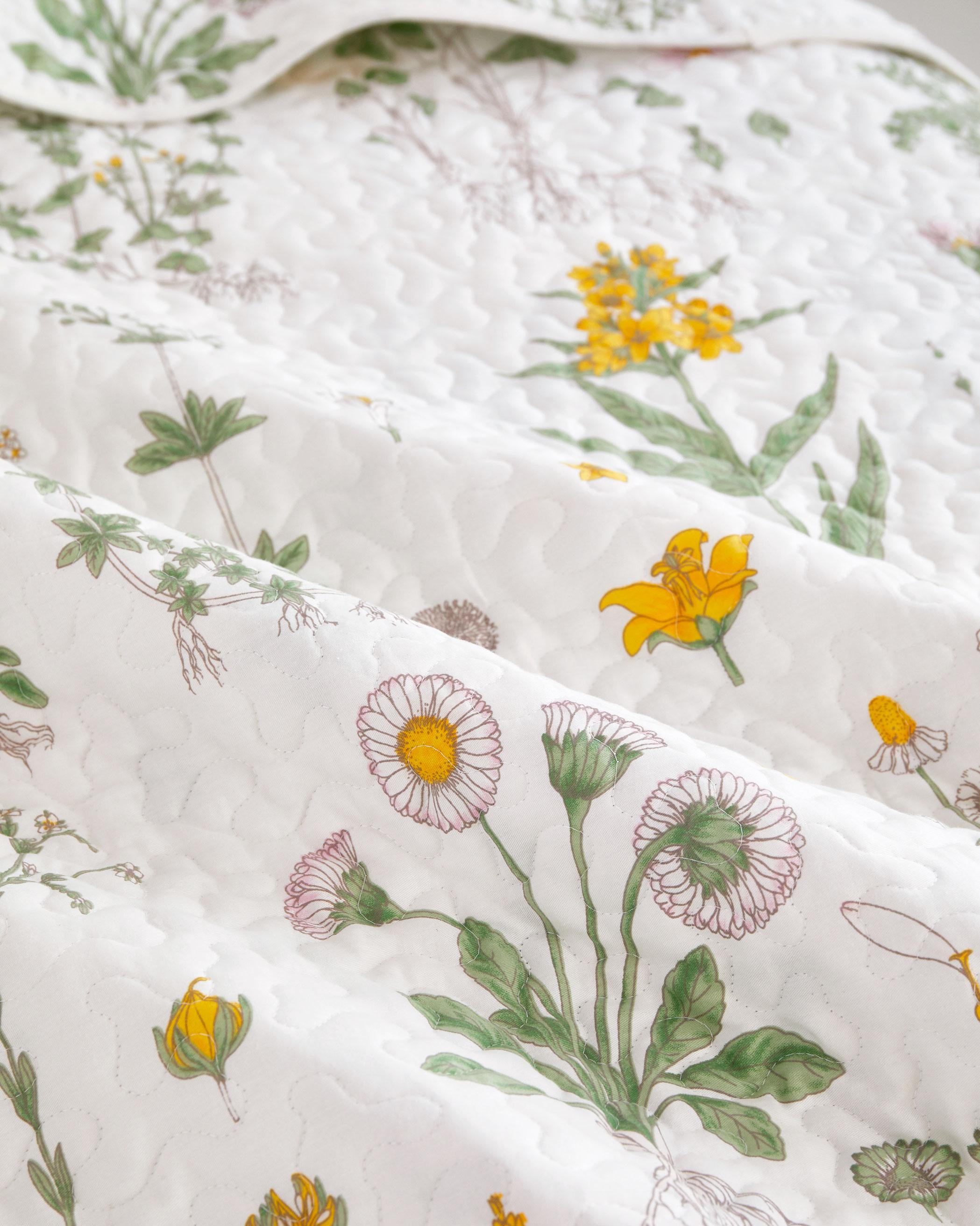 Botanical Cotton Quilt Set