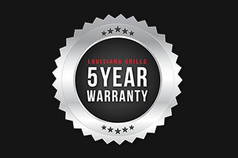 Louisiana Grills 5 Year Warranty