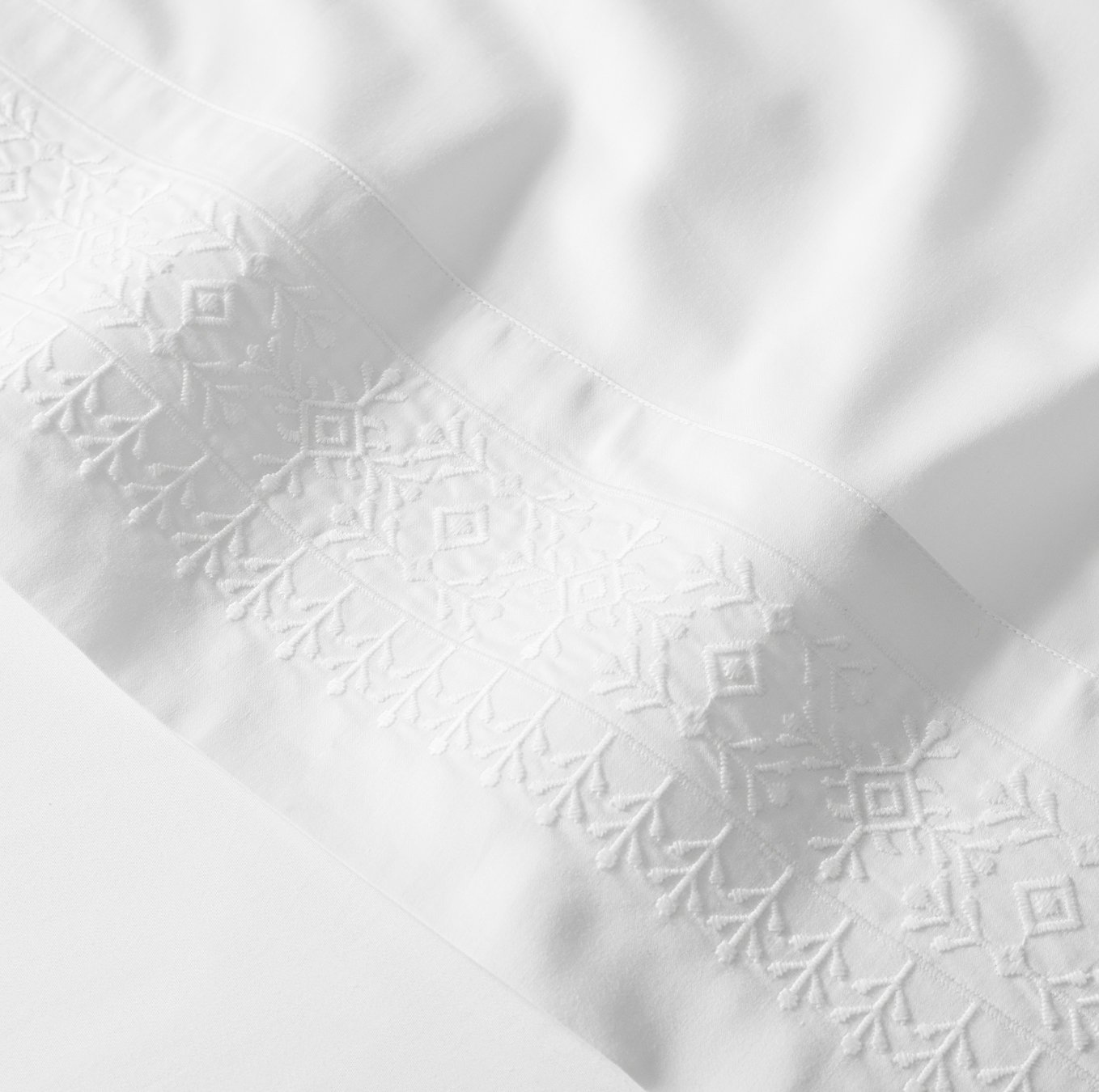 Signature Embroidered Cottonfield Sheet Set