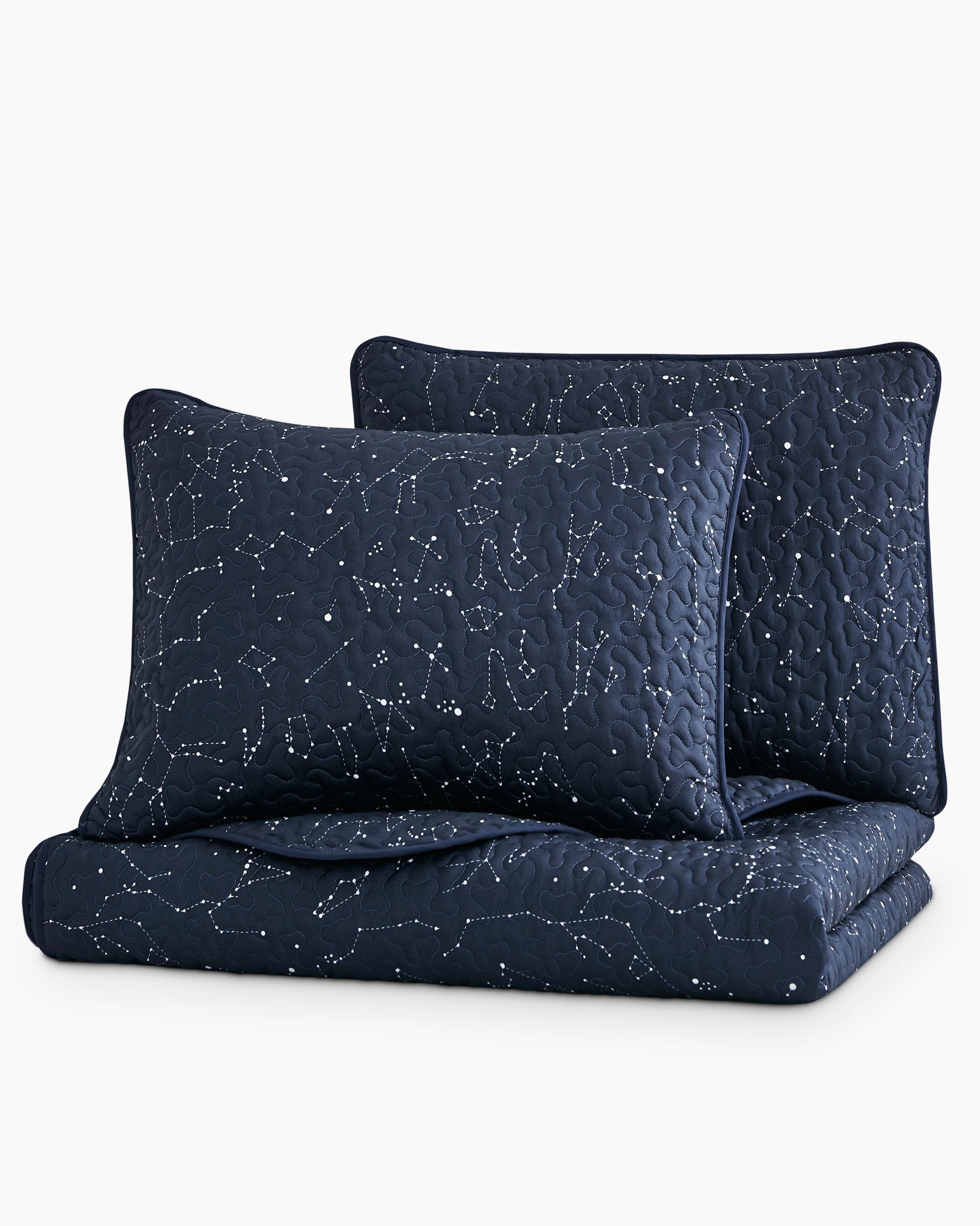 Constellation Microfiber Quilt Set